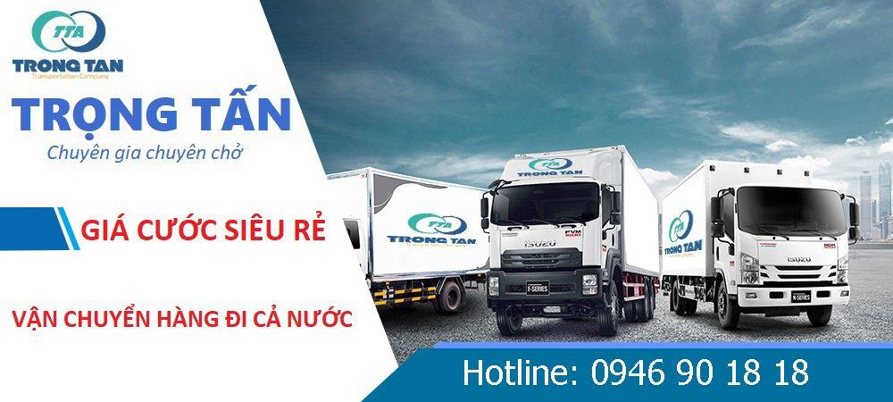 Vận chuyển hàng từ tp. HCM đi Thái Nguyên
