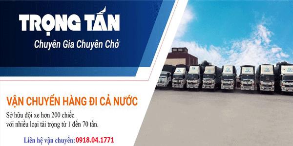 Chành xe chuyển hàng Hà Nội đi An Giang