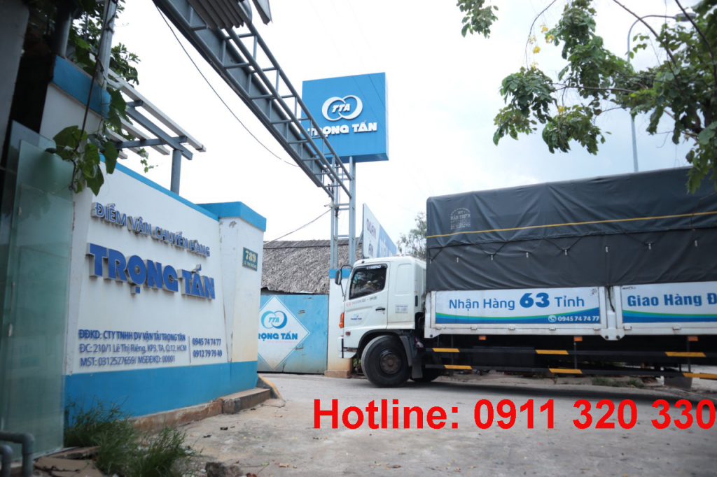 Chành xe vận chuyển tại Đà nẵng đi Hậu Giang