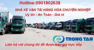 Chở hàng đi cửa khẩu Hữu Nghị từ Sài Gòn