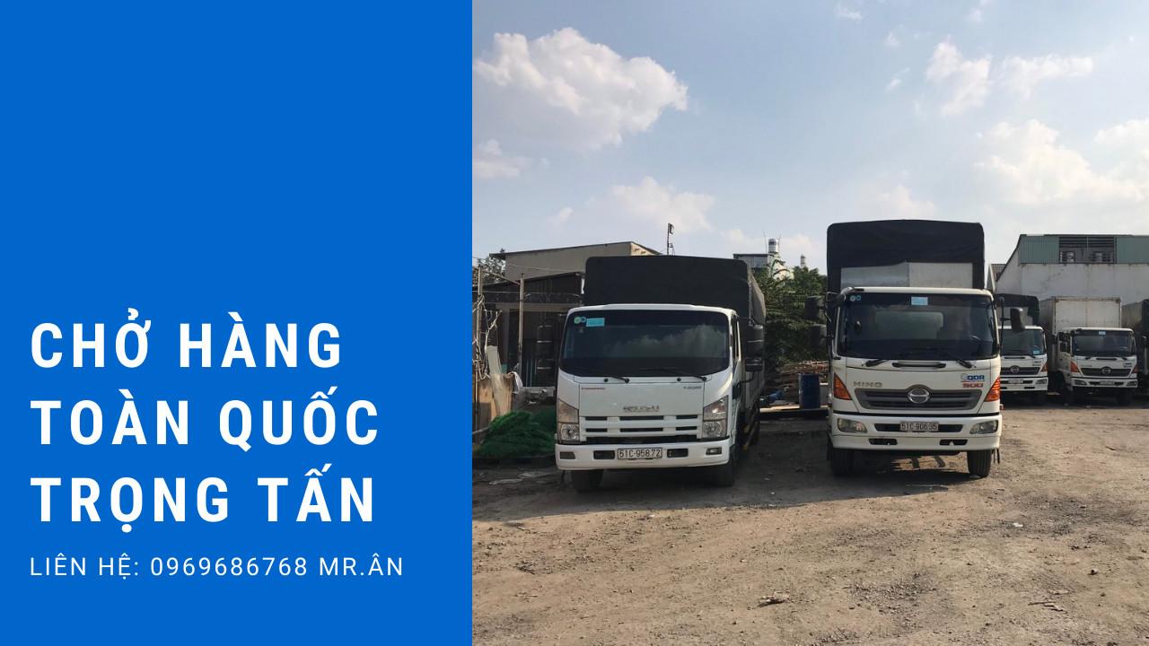 Chành xe vận chuyển hàng Sài Gòn về Tiền Giang