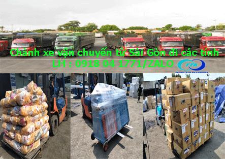 Nhà xe vận chuyển hàng lẻ Sài Gòn đi Hải Dương