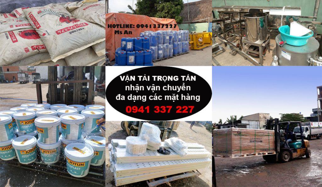 Vận chuyển các mặt hàng từ Sài Gòn