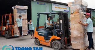 Chành xe vận chuyển hàng Hà Nội vào Cà Mau
