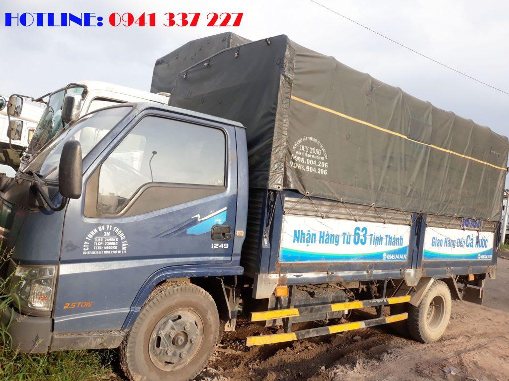 Xe chở hàng tại Sài Gòn đi Thanh Hóa