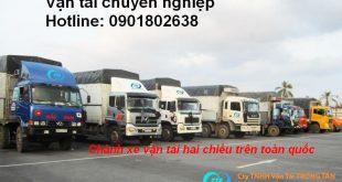 Chuyên chở hàng hóa đi KCN Nhựa Chánh Long An
