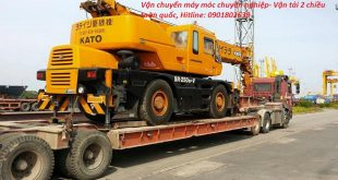 Dịch vụ vận tải xe công trình từ Hà Nội