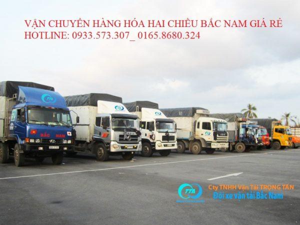 Chuyển hàng từ Bạc Liêu đi Bắc Giang
