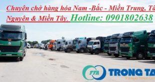 Chuyên chở hàng nguyên xe từ Tp Sông Công