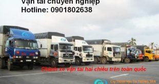 Chuyên chở hàng nguyên xe từ Chí Linh Hải Dương