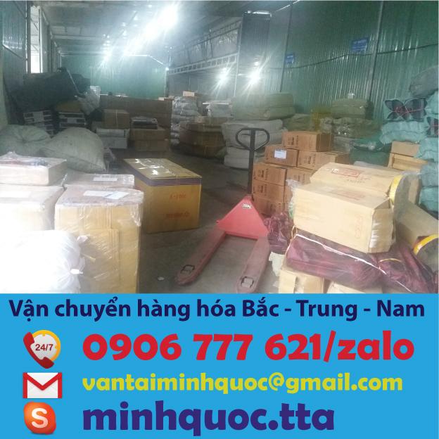 Chành xe chuyển hàng từ Sài Gòn đi Vũng Tàu