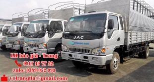 Giá cước chuyển hàng Sài Gòn đi Hà Tĩnh