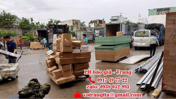 Chành gửi hàng từ Bình Dương đi Hà Nội