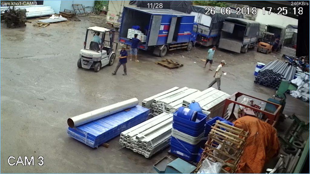 Kho bãi của chành xe Nhận chuyển hàng Kiên Giang đi Hà Nội