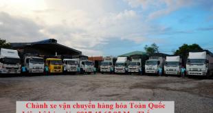 Chuyển hàng Trần Văn Thời Cà Mau đi Hà Nội