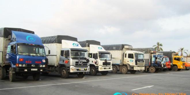 thuê xe tải chuyển hàng ra Hà Nội