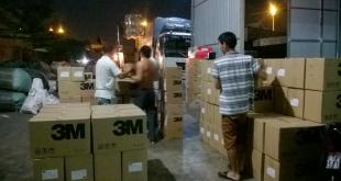 Vận tải hàng dự án cầu Cửa Đại Quảng Ngãi