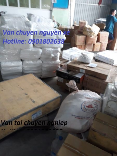Chành xe chuyển hàng từ Sài Gòn đi Cả Nước