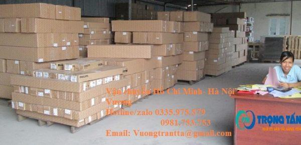 Kho vận chuyển hàng Hồ Chí Minh về Hà Nội