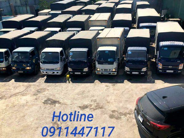 Xe tải chở hàng Cần Thơ đi Nghệ An
