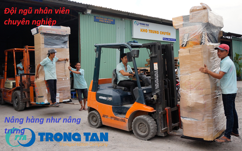 Vận chuyển hàng Sài Gòn đi Huế