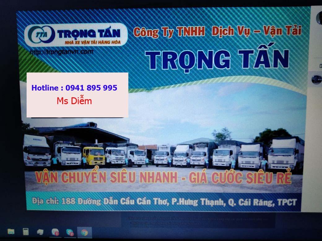 Chành xe vận chuyển hàng đi Quảng Ngãi