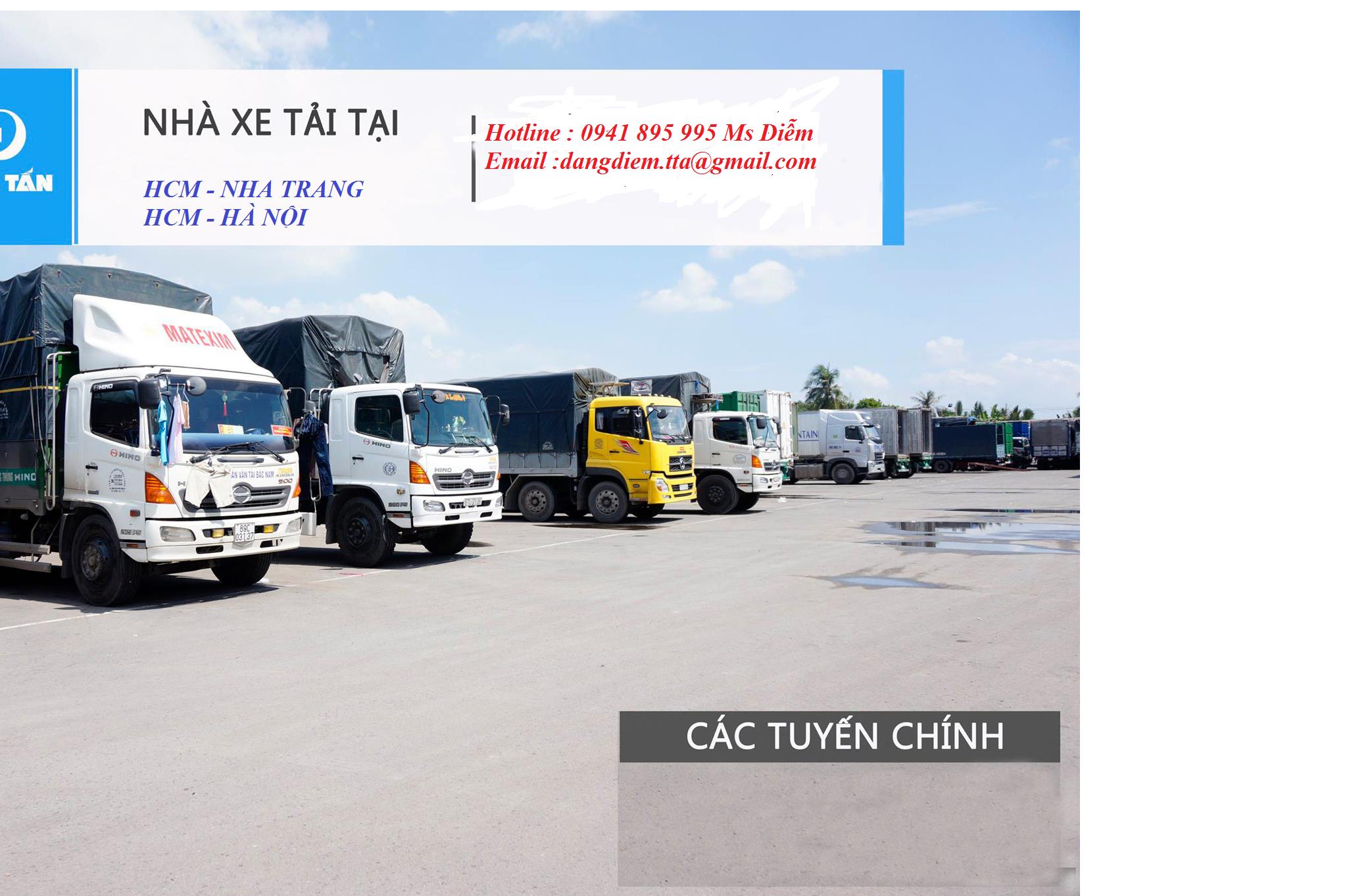 Xe tải chuyển hàng Đà Nẵng Hà Nội