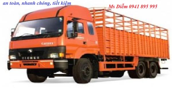 Chành xe vận chuyển hàng đi An Giang
