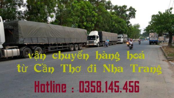 Xe tải chở hàng Cần Thơ đi Nha Trang