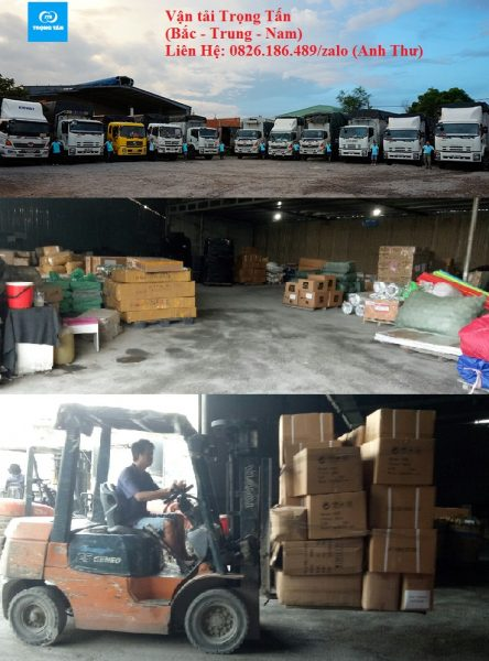 Vận chuyển hàng Hà Nội đi Thái Nguyên