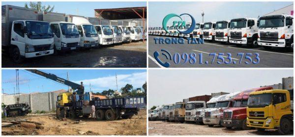 Vận chuyển hàng hóa Cần Thơ- Hòa Bình đa dạng đầu xe