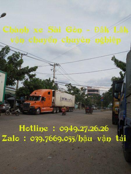 Chành Xe Sài Gòn Đắk Lắk