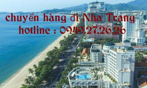 Chuyển hàng từ Vũng Tàu đi Nha Trang