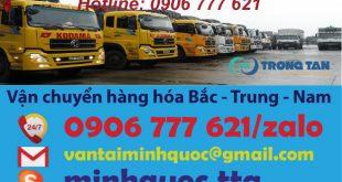 ship hàng từ Hà Nội vào Sài Gòn