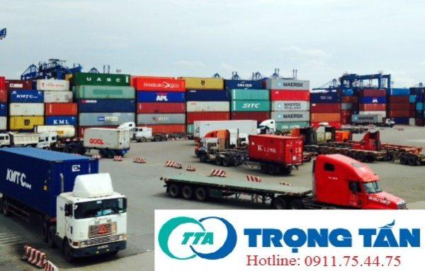 Vận chuyển container từ cảng về KCN
