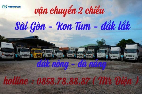 Chuyển Hàng Sài Gòn-Kon Tum-Đắk Lắk