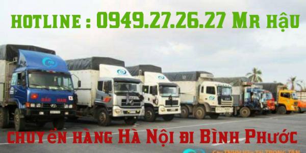 dịch vụ chuyển hàng từ Hà Nội đi Bình Phước
