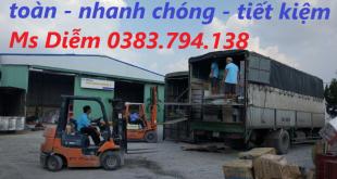 nhà xe chuyển hàng Hà Nội đi HCM
