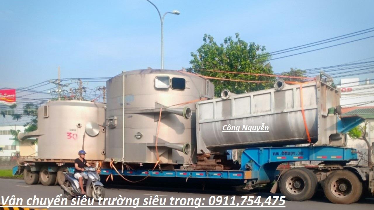 Nhận vận chuyển hàng quá khổ quá tải tại Hà Nội