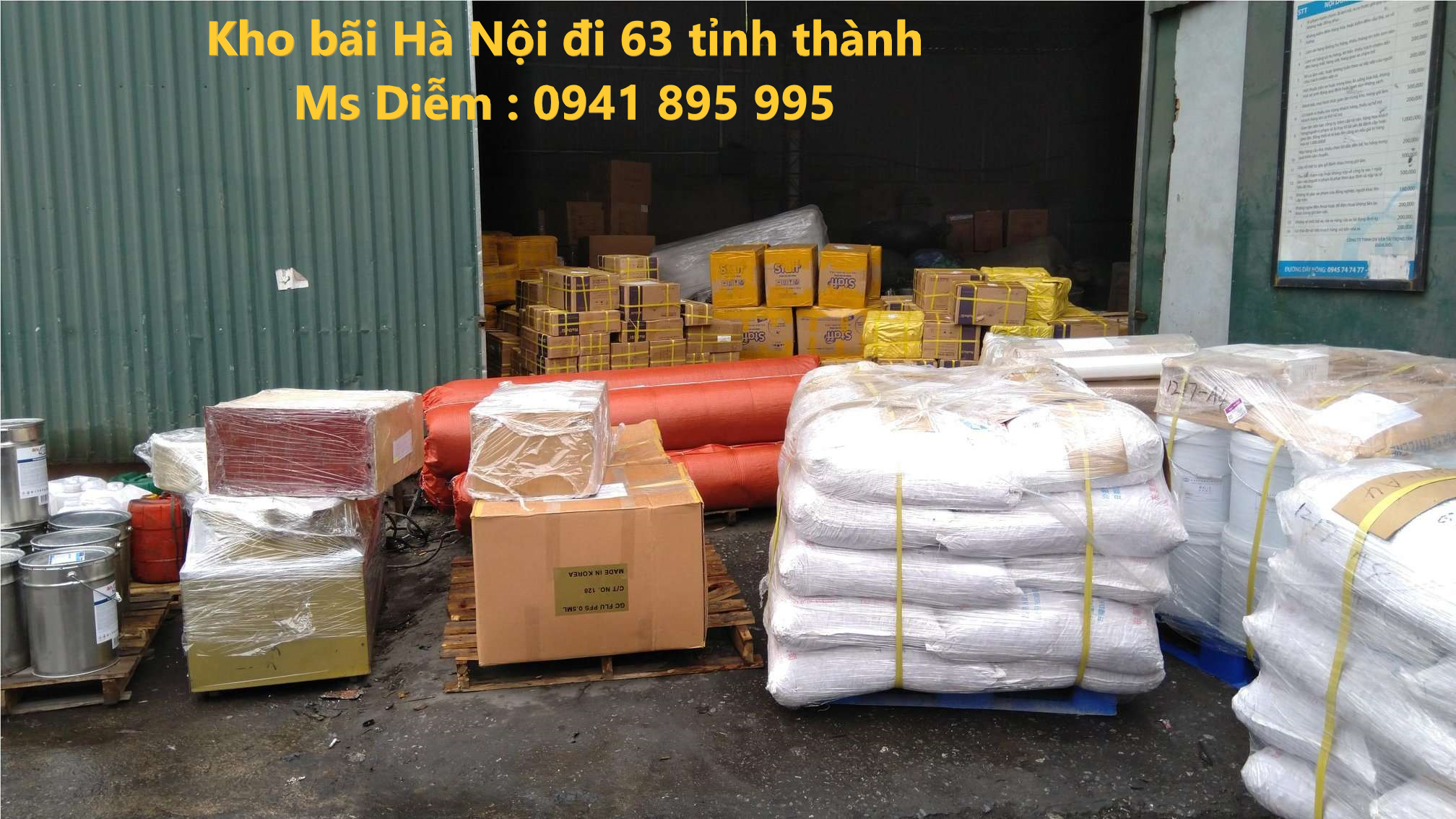 vận chuyển hàng đi Bình Thuận