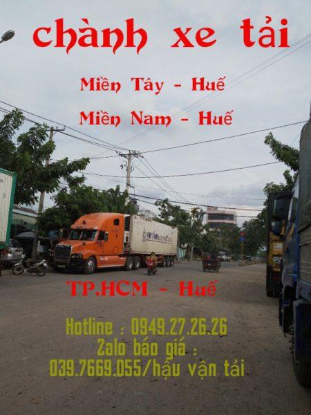 Chuyển hàng từ Kiên Giang đi Huế