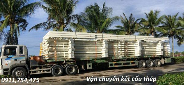 Vận chuyển kết cấu thép về Tuyên Quang