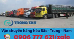 Xe container chở hàng