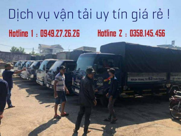 đội xe chuyển hàng đi Tiền Giang từ Đà Nẵng