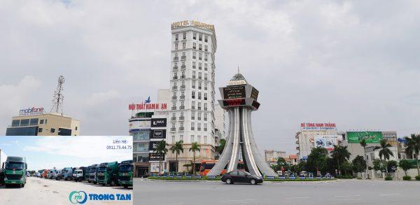 Xe gửi hàng đi Nam Định