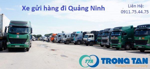 Xe gửi hàng đi Quảng Ninh