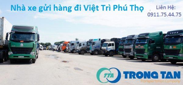 Xe gửi hàng đi Việt Trì