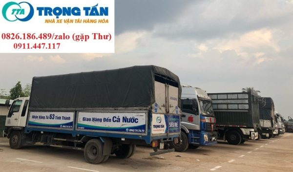 Chở hàng ghép Quận 12 Sài Gòn về Cần Thơ