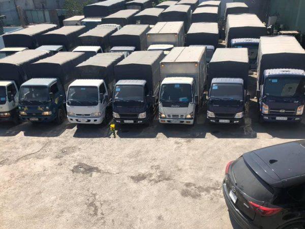 Phương tiện vận chuyển hàng dồi dào và đa dạng