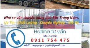 Nhà xe vận chuyển hàng hóa trong nước